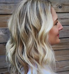 Cool blonde highlights with balayage ribbons by Laurie Daniel in NYC the best of the best!!!!