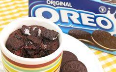 Mug Cake de Oreo | 1 Minuto en el Microondas!