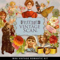 Freebies Vintage Romantic Kit
