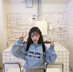Image in ulzzang girls. Find images and videos about girl, fashion and grunge on We Heart It - the app to get lost in what you love. Grunge Style, Soft Grunge, Ulzzang Fashion, Ulzzang Girl, Korean Fashion Trends, Asian Fashion, Girl Couple, Korean Aesthetic, Asia Girl