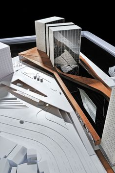 Image 1 of 60 from gallery of Keelung New Harbor Service Building Competition Entry / ACDF Architecture. model 04