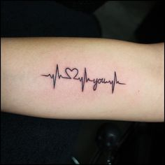 Heart Monitor TattooTattoo Themes Idea | Tattoo Themes Idea