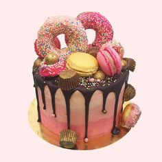 Pink Wink Birthday Cake