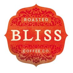 Roasted Bliss coffee logo by Super Furry