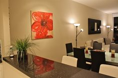 Luxury Living Space with modern furnishings