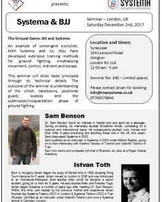 Systema & BJJ seminar at RMA Systema