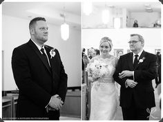 church ceremony, father of the bride, augusta jones bridal gown, our lady of mount carmel, ct wedding photographers, groom