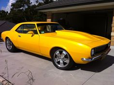 #Camaro with VF-4 door mirrors