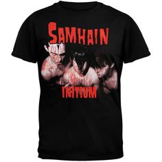 Samhain - Red Initium Adult T-Shirt