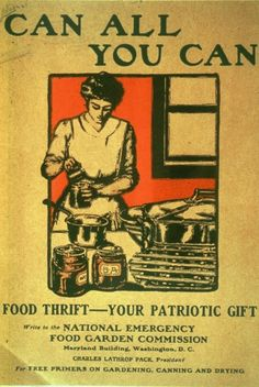 an All You Can Poster from WWI