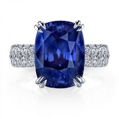 MY LOVE!!!!!!!!!!!!!!! Omi Prive: Sapphire and Diamond Ring