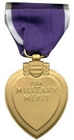 The original Purple Heart, designated as the Badge of Military Merit, was established by George Washington – then the commander-in-chief of the Continental Army – by order from his Newburgh, New York headquarters on August 7, 1782. The Badge of Military Merit was only awarded to three Revolutionary War soldiers and from then on as its legend grew, so did its appearance. Although never abolished, the award of the badge was not proposed again officially until after World War I.[3]