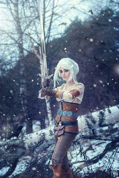 Cirilla Fiona Elen Riannon (WITCHER cosplay) by LienSkullova.deviantart.com on @DeviantArt