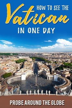 Read my recommendations of 9 unique things to do in Vatican City to make your trip memorable. Including practical tips to arrange your visit to the Vatican. Italy Travel Tips, Europe Travel Guide, Rome Travel, Travel Guides, Backpacking Europe, Travelling Europe, Europe Destinations, Malta, Cool Places To Visit
