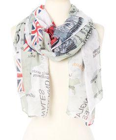 Frankie & Stein London scarf...I ❤ 🇬🇧!