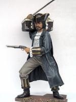 Buccaneer life size with Treasure Box