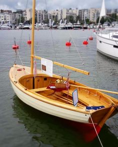 Stitch And Glue Boat Plans 3529554205 Classic Sailing, Classic Yachts, Old Boats, Small Boats, Sailing Dinghy, Sailing Boat, Wooden Sailboat, Model Boat Plans, Small Sailboats