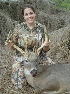 Prois customer Christine Wolf Williams' buck from 2 years ago! Prois was there! #Prois #Proiswasthere #badassery #bigbuck #buckhunting #hunting #buck