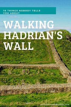 10 Things Nobody Tells You About Walking Hadrian's Wall - Gallop Around The Globe Hiking Checklist, Hiking Essentials, London City Guide, Hadrian's Wall, Day Hike, Hiking Photography, Winter Hiking, Iceland Travel, English Countryside