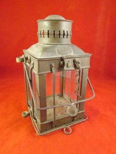 Vintage Marine Neptune Brass Oil Lantern Lamp Ship Cargo Lamp Boat Maritime!! #Neptune