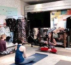 Our lovely Ambassador Sonia Doubell led a great morning class at our Anthropologie Europe event, called yoga melt instore and had everyone feeling relaxed on a Sunday morning.   Our beautiful SS15 collection is available now at the Anthropologie King's Road store or at www.wellicious.com