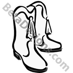 drill team boots clip art check the website every psetts gifts rh pinterest com drill team boot clipart dance drill team clipart