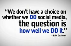 These words are so true! Strive to do #socialmedia well for your business and if you need help, we are here!