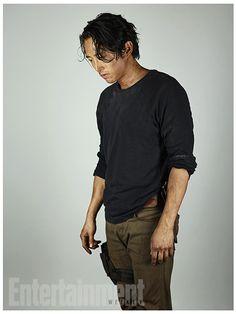 'Walking Dead': New EW Character Portraits | Steven Yeun as Glenn | EW.com