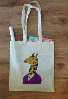 Geoffrey Giraffe Tote bag £6.00