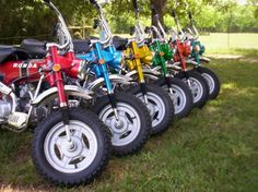 My Childhood was this bike.  CT70! Need a crew of people to take over the streets with these!