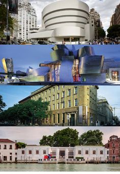 what she started from her home.... continues years later, worldwide | Museo Guggenheim Bilbao, Deutsche Guggenheim & The Peggy Guggenheim Collection and Venice Guggenheim