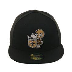 6888c8bb5f88f Exclusive New Era 59Fifty New Orleans Saints 1967 Hat - Black