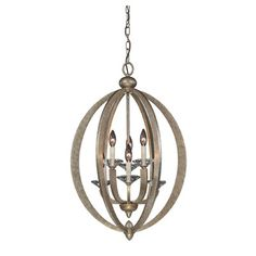 Savoy House Forum 6 Light Foyer Pendant & Reviews | Wayfair