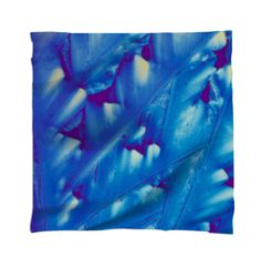 Graceful Blue Crystal Scarf - Gorgeous, vibrant blue crystals. https://crystalartoutfitters.com/collections/scarves/products/graceful-blue-crystal-scarf