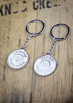 Bonnie & Clyde Matching Keychains