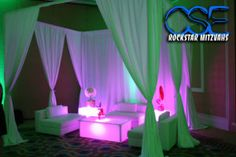 Read our blog post from Rachel's Bat Mitzvah and find out about our Lounge Decor for your next event! www.citysoundsentertainment.com