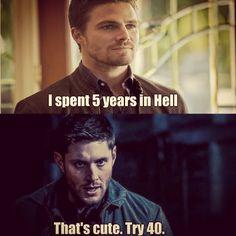 When Arrow met Dean