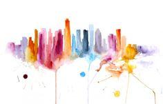 Watercolours by Elena Romanova