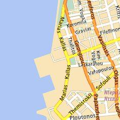 BEST online map of Greece I've seen! Michelin map of Greece - Michelin interactive maps