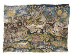 The Embroiderer's Story: Elephants in 17th century embroidery
