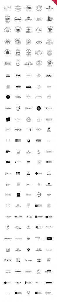 All marks, logos, and logotypes are included a vector graphics.