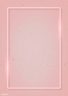 Rectangle pink neon frame on a pink background vector Pink Neon Wallpaper, Framed Wallpaper, Iphone Background Wallpaper, Aesthetic Iphone Wallpaper, Colorful Wallpaper, Aesthetic Wallpapers, Iphone Wallpaper Glitter, Wallpaper Wallpapers, Girl Wallpaper