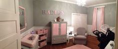 My baby girl nursery :)