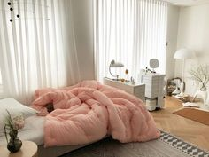 Ideas Home Dream Bedroom Comforter Dream Rooms, Dream Bedroom, Home Bedroom, Bedroom Decor, Bedrooms, Aesthetic Bedroom, Cozy Room, Home And Deco, My New Room
