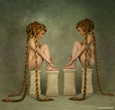 Twins by Peter Kemp art photography