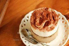 "dailydelicious: Entremets Glacé ""Cappuccino"": You'll need Frozen Coffee!!!"