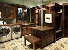 Yellowstone Laundry Room.