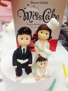 Find This Pin And More On 3D Modelling Clay Sugarcraft Cake Wedding Topper