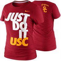 Nike USC Trojans Womens DNA T-Shirt