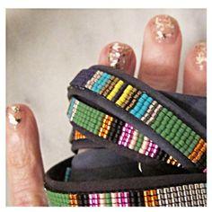 Gold(en) Nails and new Isaro // #jillgoldenjewels #agoldenlife #stackitup #Isaro #fairtrade #rwanda
